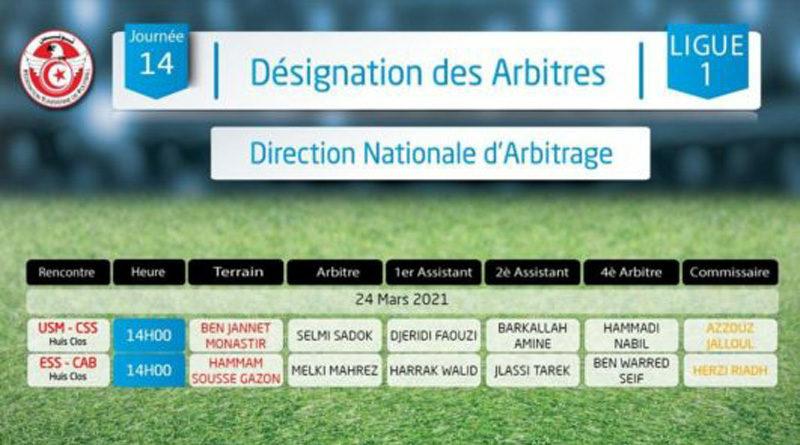 Nachholspiele 14. Spieltag der Liga 1 Tunesien - Rückrunde