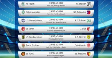 Spieltag 26 der Ligue 1 Tunesien am Mi, 19 Mai 2021 - Rückrunde